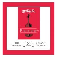 D'Addario J810 Prelude Violin 4/4 Scale Medium Tension