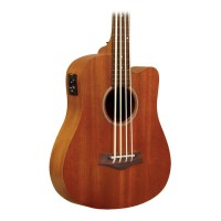 Goldtone M Bass Microbass Fretless Short-Scaled Acoustic Electric Bass with Bag