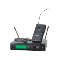 Shure SLX1484 Wireless Lapel Microphone System w/ WL184