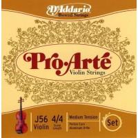 D'Addario J56 Pro-Arté Violin 4/4 Scale Medium Tension Set