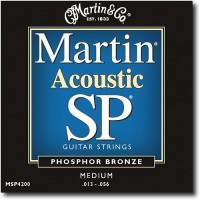 Martin SP MSP4200 Phosphor Bronze 13-56 Medium Acoustic Guitar Strings