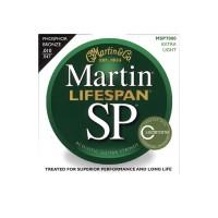 Martin Lifespan Extra Light Phosphor Bronze Acoustic Guitar Strings 10-47
