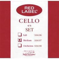 Super Sensitive SS6107 Medium Cello Strings 4/4