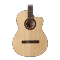Cordoba GK Studio Negra Nylon String Acoustic Electric Guitar in Natural Finish