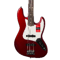 Fender American Professional Jazz Bass in Candy Apple Red w/ Case