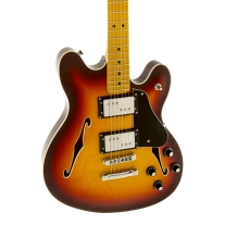 Fender Starcaster® Electric Guitar Aged Cherry Burst