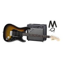 Fender Squier Affinity Series Stratocaster HSS Beginner Pack w/ Frontman 15G Amp