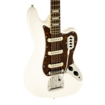 Squier Vintage Modified Bass VI Electric Guitar Olympic White
