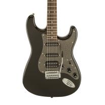 Squier Affinity Strat By Fender HSS Guitar In Montego Black