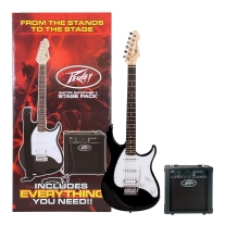 Peavey Raptor Plus Stage Back Guitar Starter Pack in Black