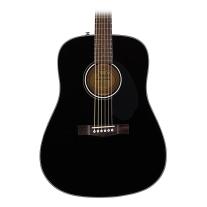 Fender CD-60S Acoustic Guitar Black