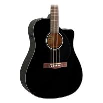 Fender Cd-60Sce Acoustic-Electric Guitar Black