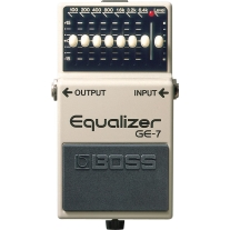 Boss GE-7 Graphic Equalizer Stompbox