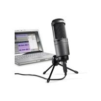 Audio Technica AT2020 USB Cardioid Condenser Microphone