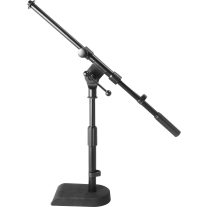 On Stage MS7920B Microphone Stand with Boom and Weighted Base