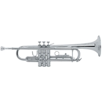 Bach Model TR200S Series Bb Trumpet- Silver Plated