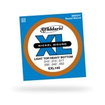 D'Addario EXL140 Nickel Light Top/Heavy Bottom Electric Guitar St