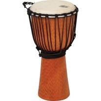 "Toca Street Series 8"" Small Djembe Drum in Cherry Finish"