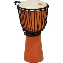 """Toca Street Series 12"""" Large Djembe in Cherry Finish"""