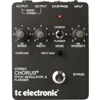 TC Electronic SCF Stereo Chorus Flanger Effects Pedal