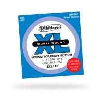 D'Addario EXL116 Medium Top / Heavy Bottom 11-52