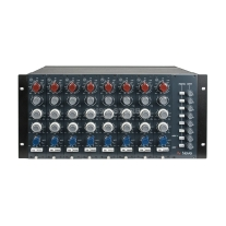 AMS Neve 1073/1084 5U Rack with PSU, Phantom and Gain Control