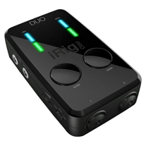IK Multimedia iRig Pro DUO 2-Channel Audio and MIDI Interface