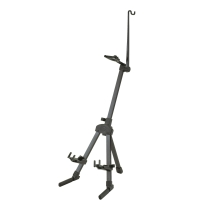 K&M 15530 Violin Stand with Bow Holder