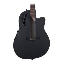 Ovation 2078 TX 5 Elite T Deep Contour Acoustic/Elec Guitar in Black