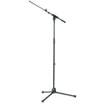 K&M 21075 Tripod Microphone Stand with Adjustable Boom