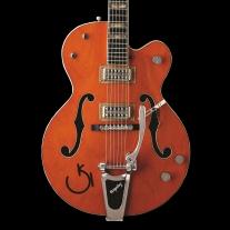 Gretsch G6120RHH Reverend Horton Heat Signature Electric Guitar Orange Stain