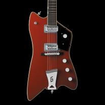 """Gretsch G6199 Billy-Bo Jupiter Thunderbird """"G"""" Cutout Tailpiece Firebird Red"""
