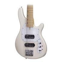 Schecter CV-5 5-String Electric Bass Guitar, Ivory