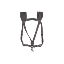 Neotech 2501172 Extra Long Soft Harness with Swivel Hook in Black