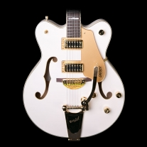 Gretsch G5422TG Electromatic Electric Guitar - Snow Crest White