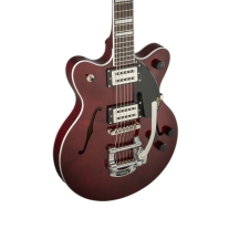 Gretsch Streamliner Junior Double Cutaway w/ Bigsby, Rosewood - Walnut Stain