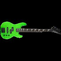 """Jackson JS Series Concert Bass Minion (28.6"""" Scale) JS1X Electric Bass Neon Green"""