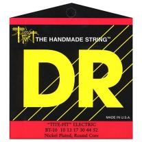 Dr Strings BT-10 10-52 Tite Fit Nickel Plated Electric Guitar Strings