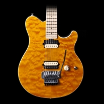 Music Man Axis Electric Guitar Translucent Gold Maple Fretboard