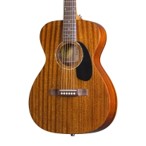 Guild GADM120E Mahogany Concert Acoustic Electric Guitar with Case