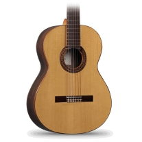 Alhambra 4Z Classical Guitar with Solid Cedar Top Zircote Back and Sides