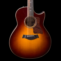 Taylor 858CE 12-String Grand Orchestra Tobacco Sunburst Acoustic Electric Guitar