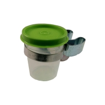 Jones A110 Soaker Cup and Clip for Double Reeds