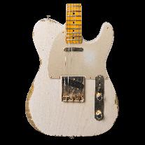 Fender 1951 Telecaster Golden '50's Heavy Relic in Dirty White Blonde