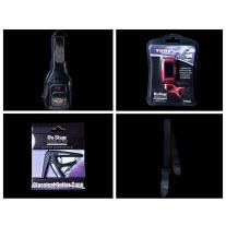 Premium Acoustic Guitar Accessory Bundle
