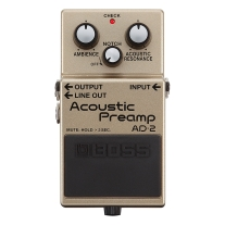 Boss AD-2 AD2 Acoustic Preamp Pedal