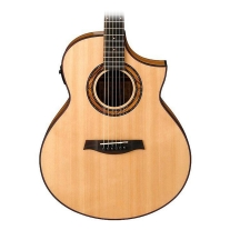 Ibanez AEW23ZWNT Exotic Wood Acoustic-Electric Guitar Natural High Gloss