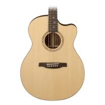 PRS SE Alex Lifeson Angelus Thinline Acoustic/Electric Guitar Natural