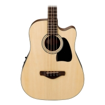 Ibanez AWB50CENT Artwood Acoustic-Electric 4 String Bass in Natural Low Gloss