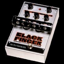Electro Harmonix Black Finger Tube Compressor Guitar Effects Pedal
